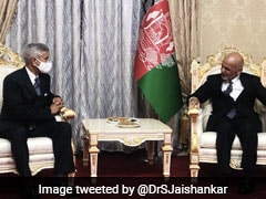 S Jaishankar Meets Ashraf Ghani, Discusses Afghan Peace Process