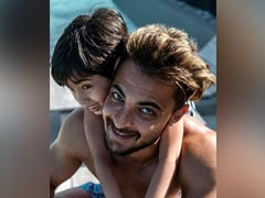 """""""Avengers Are Sending You A Joining Letter Very Soon,"""" Aayush Sharma Writes In Birthday Wish For Son Ahil"""