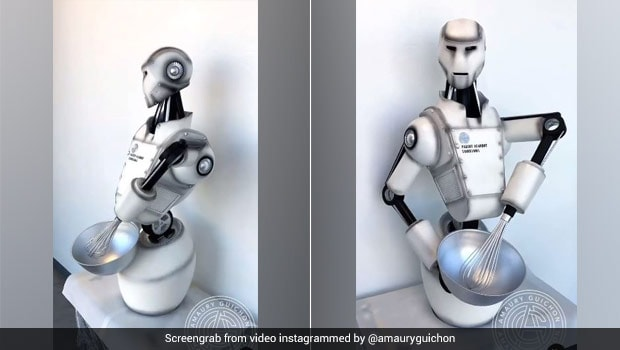 Pastry Chef Makes Edible Chocolate Robot - Watch Incredible Viral Video