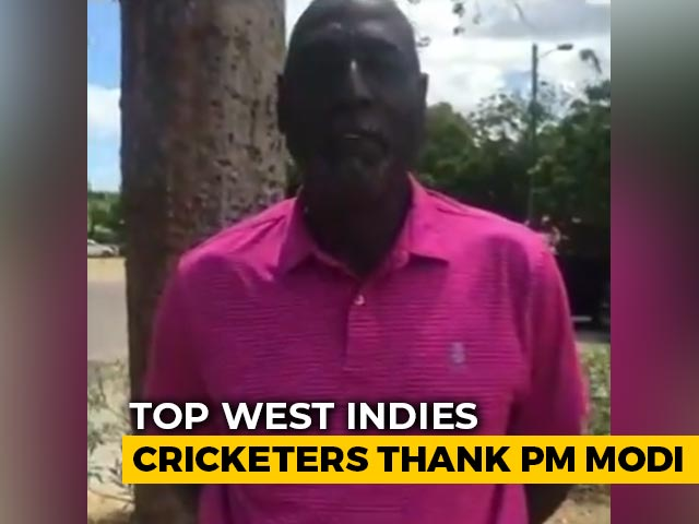 Video : Former West Indies Players, Including Viv Richards, Thank PM Modi For Covid Vaccines