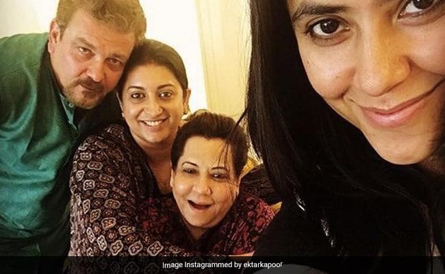 "On Smriti Irani's Birthday, Ekta Kapoor Describes Her As ""Super Mom, Leader Extraordinaire"""