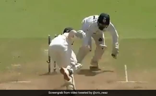 IND vs ENG 4th Test Watch Rishabh Pants brilliant stumping removes Ollie Pope as India won the 4th test match