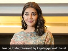 Kajal Aggarwal Takes On Spring's Top Fashion Trend In A Co-Ord Set