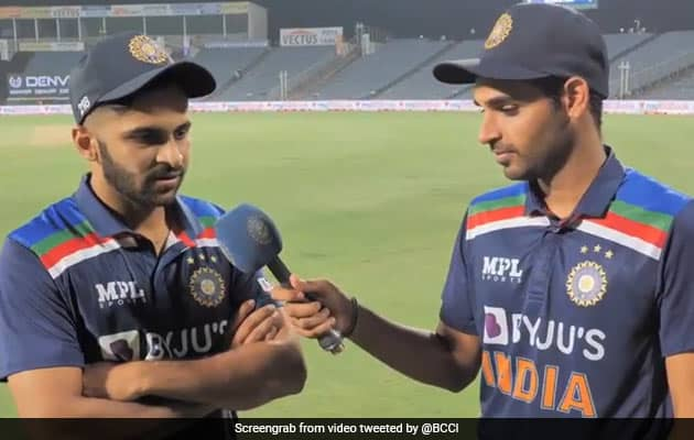 Watch: Shardul, Bhuvneshwar Interview Each Other After India Win Thriller