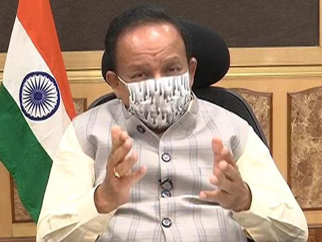 """Video : """"Will See Exponential Growth In Vaccinations"""": Dr Harsh Vardhan To NDTV"""