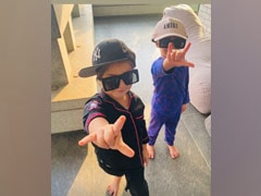 Karan Johar's Twins Yash And Roohi's Style Game Is On Point In This Adorable Pic