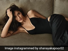 Shanaya Kapoor Continues Her Sensational Style Streak In An All-Black Outfit