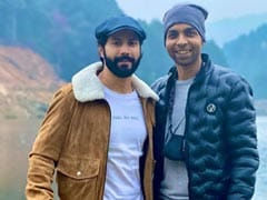 Varun Dhawan Is Busy Making Memories With <i>Bhediya</i> Co-Star Abhishek Banerjee In Arunachal Pradesh