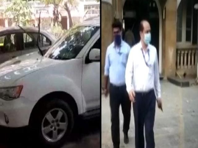 Video : NIA Discovers Another Car Allegedly Linked To Sachin Waze