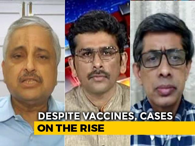 Video : Despite Vaccines, Cases On The Rise