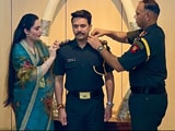 Video : Watch: Union Minister Anurag Thakur Promoted As Territorial Army Captain