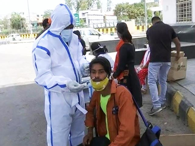Video : Random Covid Testing At Delhi-UP Border