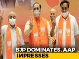 Video : BJP Dominates, AAP Impresses Again In Local Gujarat Polls