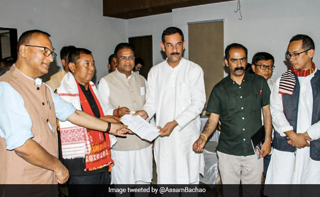 Denied Election Ticket, Assam BJP Minister Joins Congress