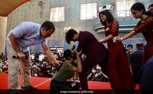 'Women More Powerful Than Men': Rahul Gandhi Teaches Aikido In Kerala