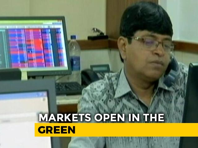 Video : Sensex Gains Over 200 Points, Nifty Above 15,000