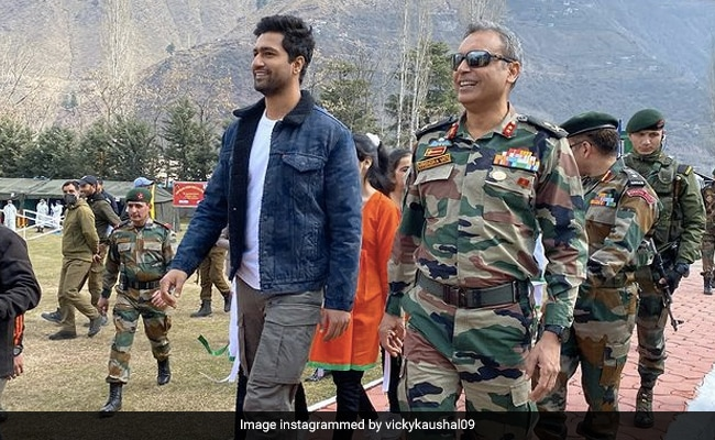 Vicky Kaushal Visits Uri Base Camp In Kashmir. Read His Post - NDTV