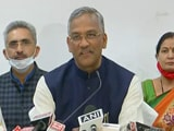 Video : Uttarakhand Chief Minister Trivendra Singh Rawat resigns