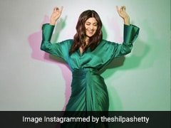 Shilpa Shetty Dances Her Way Into The Day In A Chic Rs 37K Co-Ord Set