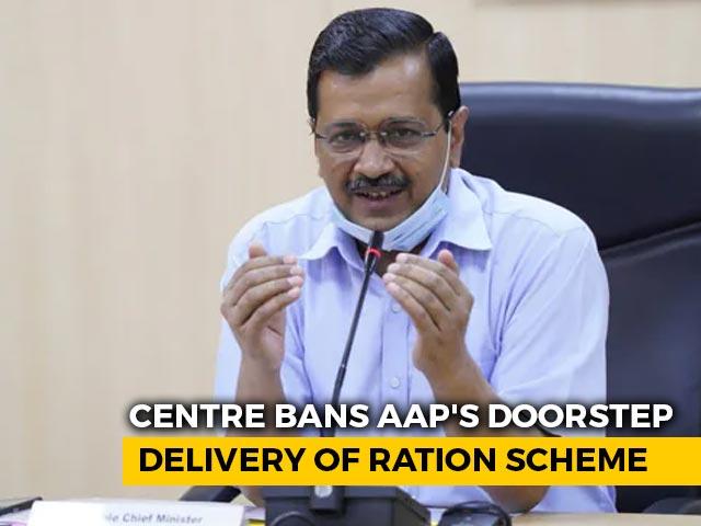 Video : Arvind Kejriwal's Ration-At-Doorstep Plan Hits Wall As Centre Writes Back