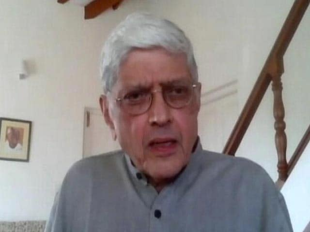 """Video : """"I Wanted To See The Man Mohandas, In The Mahatma"""": Gopal Gandhi On New Book"""