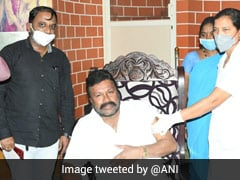 """""""What's Wrong?"""" Karnataka Minister After Getting Covid Vaccine At Home"""