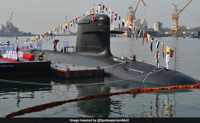 Indian Navy's Third Kalavari Class Submarine INS Karanj Commissioned