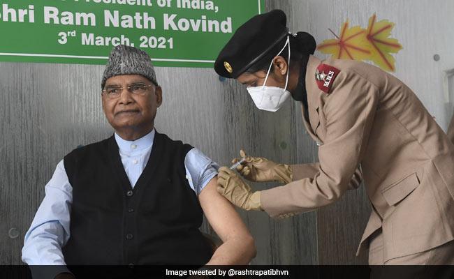 President Ram Nath Kovind Gets First Dose Of Covid Vaccine In Delhi