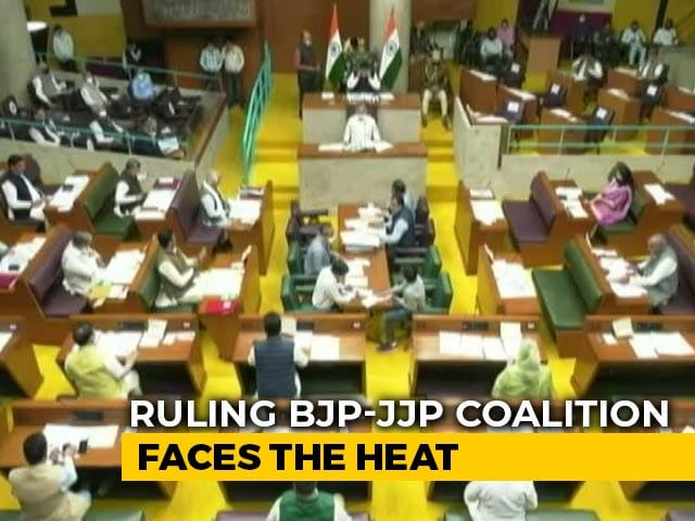 Video : Amid Unrest Over Farm Laws, BJP Faces No-Trust Motion In Haryana