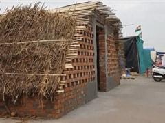 Case Against Farmers For Raising Concrete Wall On Highway Near Delhi