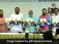 "Law Against ""Love Jihad"", Promise Of Jobs In BJP's Kerala Poll Manifesto"