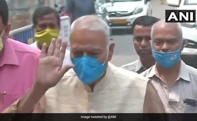Yashwant Sinha, Ex-BJP Leader, Joins Trinamool Congress Ahead Of Bengal Polls - NDTV