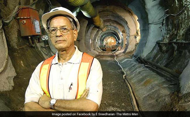 E Sreedharan Wears Delhi Metro Uniform For Last Time Ahead Of Politics