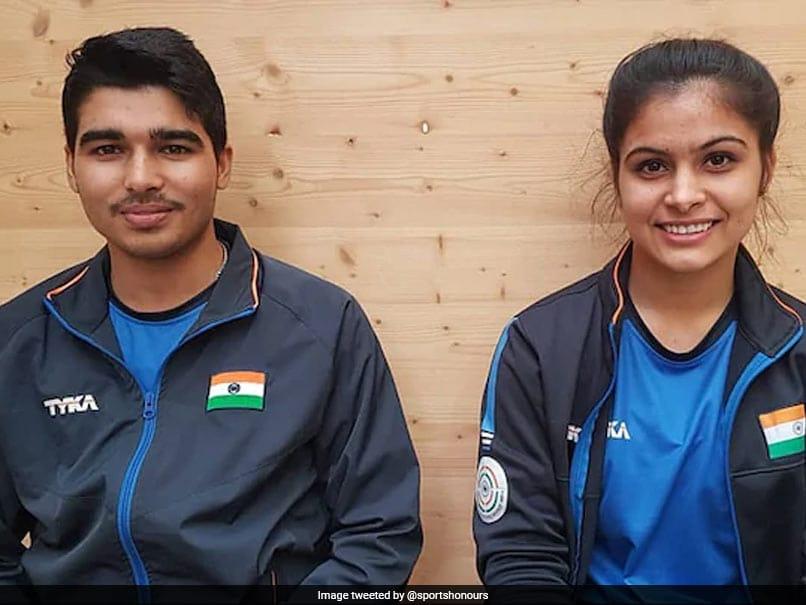 ISSF World Cup: Manu Bhaker-Saurabh Chaudhary Win Gold, Abhishek Verma-Yashaswini Deswal Bronze In 10m Air Pistol Mixed Team Event