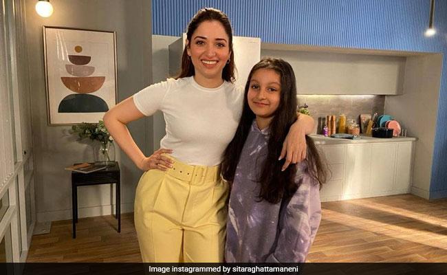 Tamannaah Bhatia Doesn't Want Mahesh Babu's Daughter Sitara To 'Grow Up So Fast'