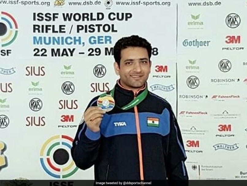 ISSF World Cup: India Win Gold In Mens 50m Rifle 3 Positions Team Event