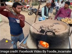 Viral Video: Bizarre! This Street Food In Uttar Pradesh Is Made In Sand, Tried Yet?