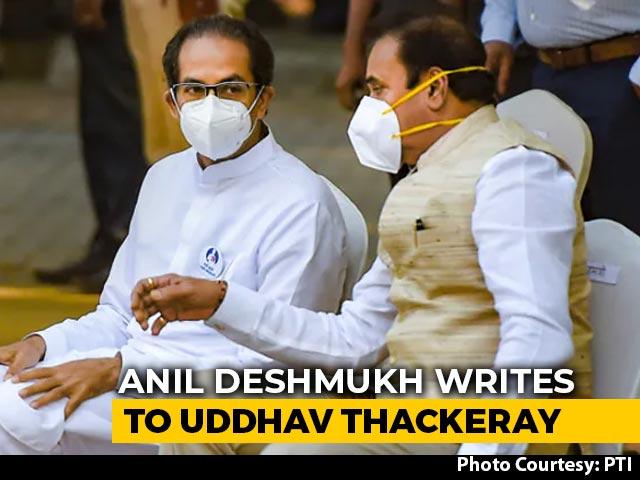 Video : Anil Deshmukh Writes To Uddhav Thackeray To Probe Corruption Charges Against Him