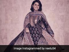 Neetu Singh Looks Regal In A Gorgeous Abu Jani-Sandeep Khosla <i>Anarkali</i>