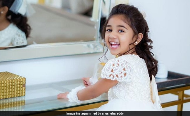 Allu Arjun's Daughter Is A Little Fairy, She'll Steal Your Heart Away