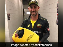 New Zealand vs Australia: Seat Broken By Glenn Maxwell's Six To Be Auctioned For Charity