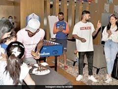 Virat Kohli, Anushka Sharma Join Wriddhiman Saha At His Son's Birthday Party