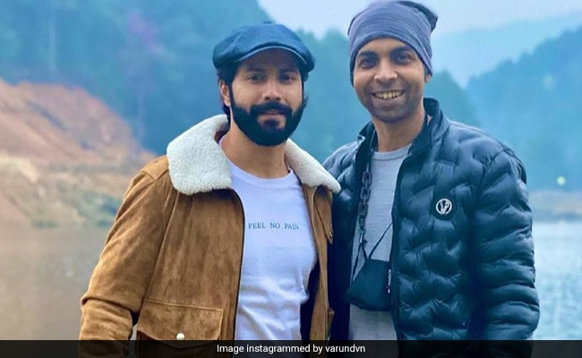 Varun Dhawan Is Busy Making Memories With Bhediya Co-Star Abhishek Banerjee In Arunachal Pradesh