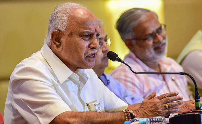 Relief For BS Yediyurappa, Supreme Court Puts On Hold Corruption Case