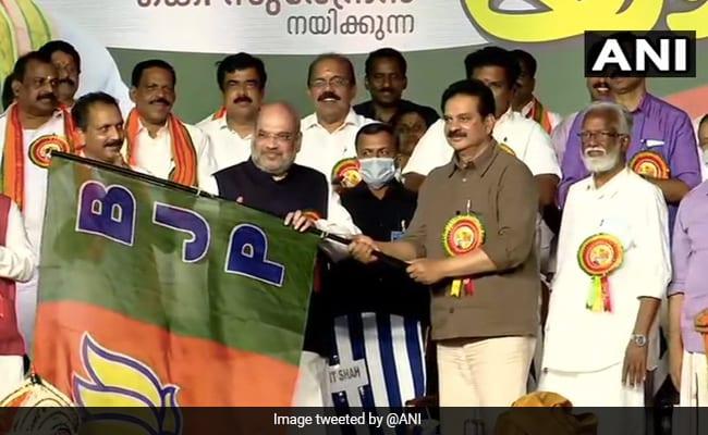 Kerala Assembly Polls: Actors Devan, Radha, Ex-Bureaucrat KV Balakrishnan Join BJP