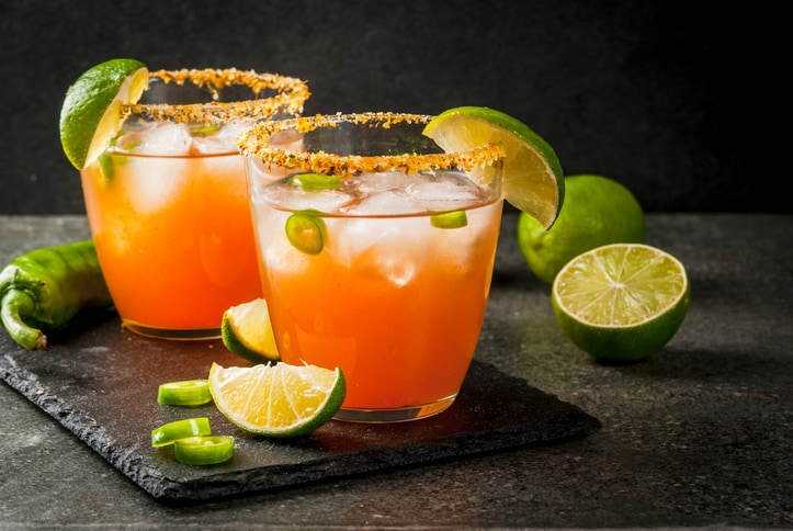 4 Glass Sets For Drinking Juice At Home