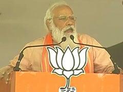 """""""<i>Khela Shesh Hobe</i>"""": PM Responds To Mamata Banerjee's Dare"""