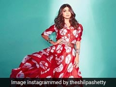 Shilpa Shetty Is Red-Dy For The Week Looking Ravishing In A Tie-Dye Outfit