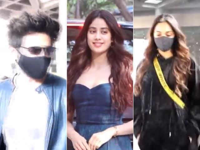 Video : What's Keeping Kiara Advani, Janhvi Kapoor And Kartik Aaryan Busy
