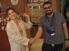 <i>Dobaaraa</i> Wraps. The Parting Note - A Bet Between Taapsee Pannu And Anurag Kashyap